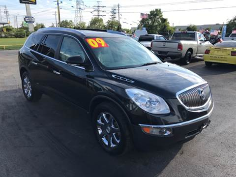 2009 Buick Enclave for sale at Texas 1 Auto Finance in Kemah TX