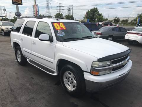 2004 Chevrolet Tahoe for sale at Texas 1 Auto Finance in Kemah TX