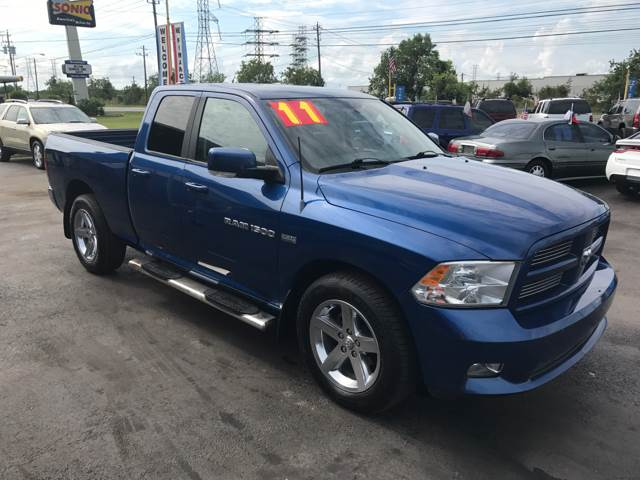 2011 RAM Ram Pickup 1500 for sale at Texas 1 Auto Finance in Kemah TX