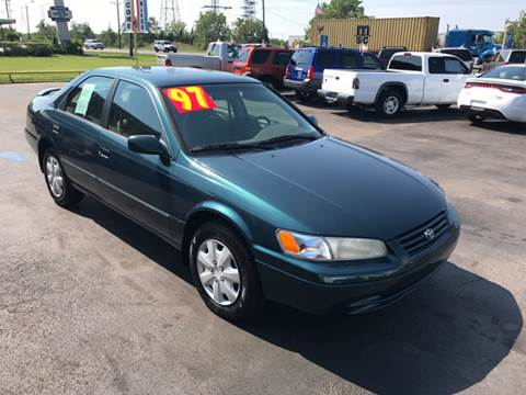 1997 Toyota Camry for sale at Texas 1 Auto Finance in Kemah TX