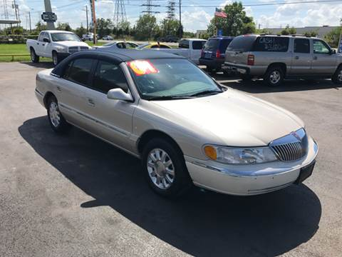 2001 Lincoln Continental for sale at Texas 1 Auto Finance in Kemah TX