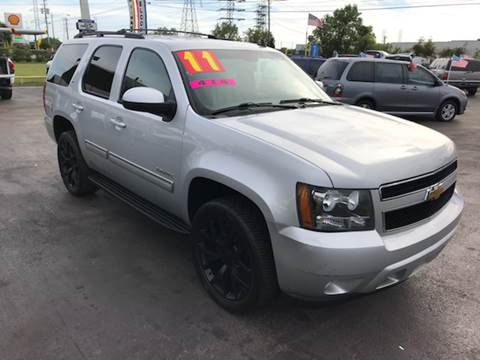 2011 Chevrolet Tahoe for sale at Texas 1 Auto Finance in Kemah TX