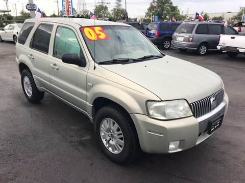 2005 Mercury Mariner for sale at Texas 1 Auto Finance in Kemah TX
