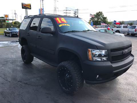 2014 Chevrolet Tahoe for sale at Texas 1 Auto Finance in Kemah TX