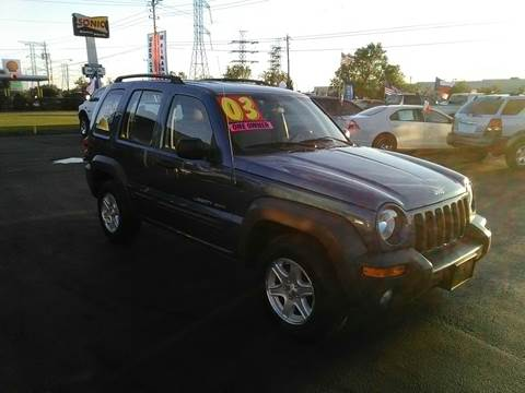 2003 Jeep Liberty for sale at Texas 1 Auto Finance in Kemah TX