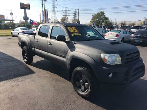 2005 Toyota Tacoma for sale at Texas 1 Auto Finance in Kemah TX