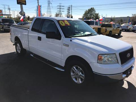 2004 Ford F-150 for sale at Texas 1 Auto Finance in Kemah TX