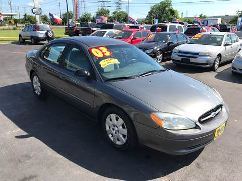 2003 Ford Taurus for sale at Texas 1 Auto Finance in Kemah TX