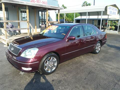 2001 Lexus LS 430 for sale at Texas 1 Auto Finance in Kemah TX