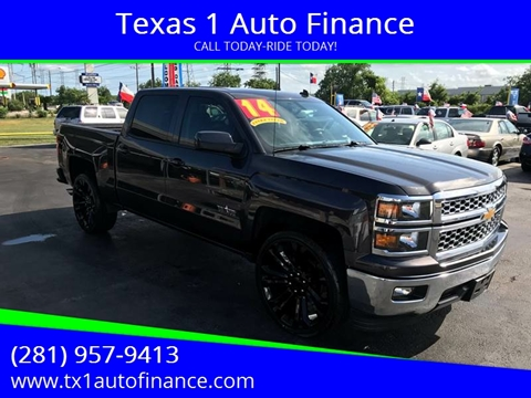 2014 Chevrolet Silverado 1500 for sale at Texas 1 Auto Finance in Kemah TX