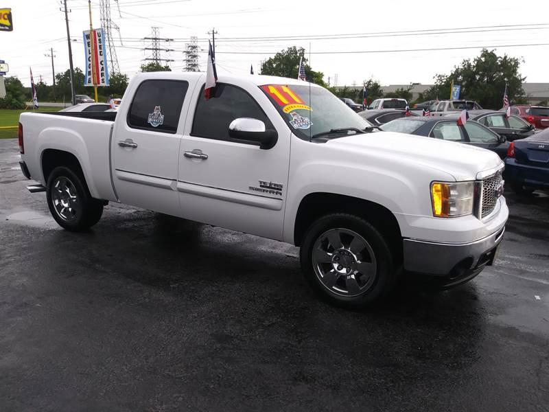 Sierra Auto Finance >> 2011 Gmc Sierra 1500 4x2 Sle 4dr Crew Cab 5 8 Ft Sb In Kemah Tx