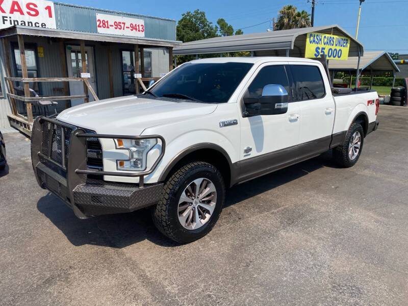 2015 Ford F-150 4x4 King Ranch 4dr SuperCrew 6.5 ft. SB - Kemah TX