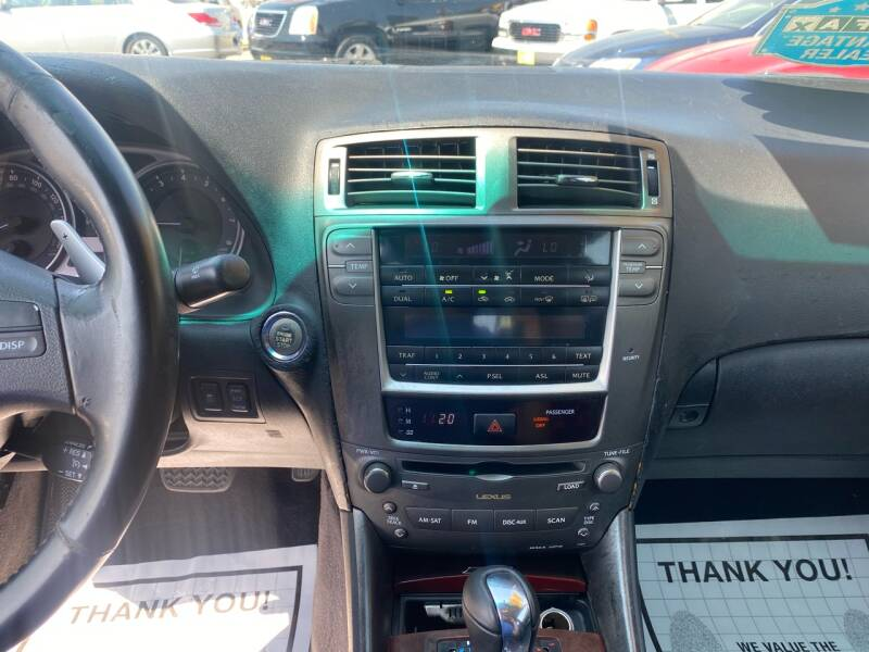 2007 Lexus IS 250 4dr Sedan (2.5L V6 6A) - Kemah TX