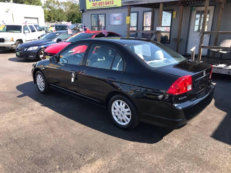 2005 Honda Civic LX 4dr Sedan - Kemah TX