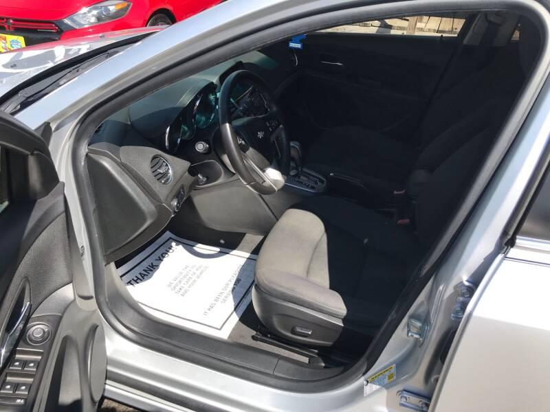 2012 Chevrolet Cruze LT 4dr Sedan w/1LT - Kemah TX