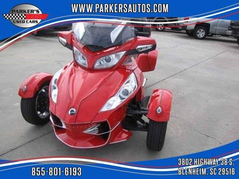 2011 Can-Am Spyder for sale in Blenheim, SC