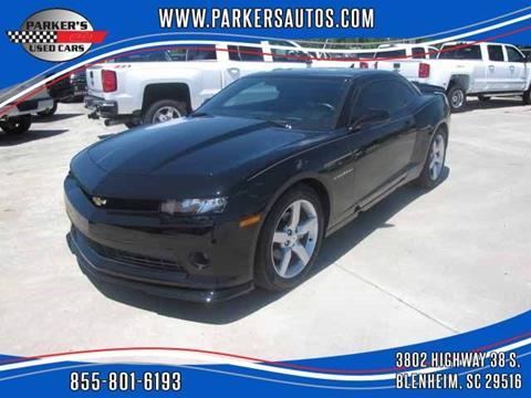 2015 Chevrolet Camaro for sale at Parker's Used Cars in Blenheim SC
