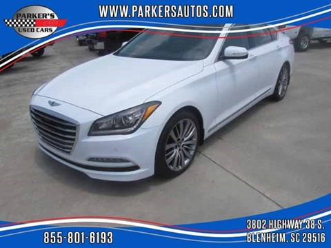 2015 Hyundai Genesis for sale at Parker's Used Cars in Blenheim SC