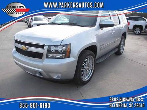 2012 Chevrolet Tahoe for sale at Parker's Used Cars in Blenheim SC