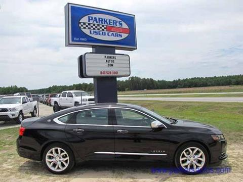 2015 Chevrolet Impala for sale in Blenheim, SC