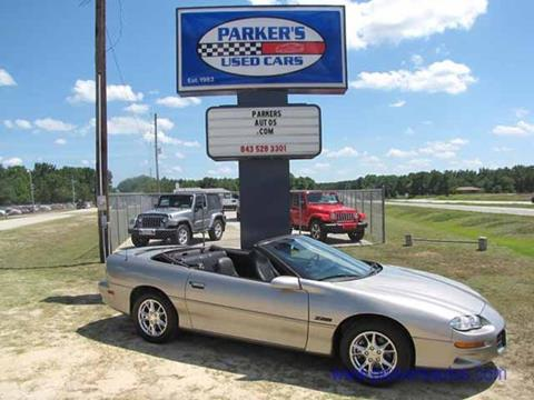 2002 Chevrolet Camaro for sale in Blenheim, SC
