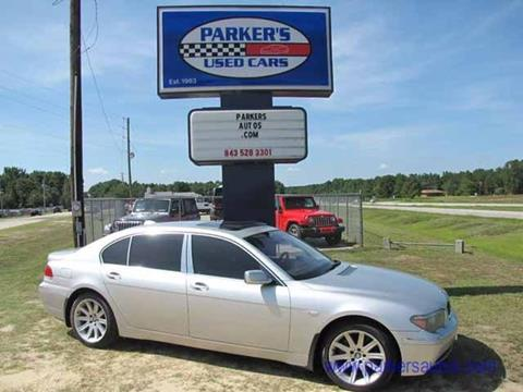 2005 BMW 7 Series for sale in Blenheim, SC