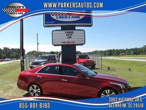 2014 Cadillac CTS for sale at Parker's Used Cars in Blenheim SC