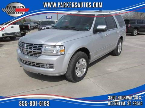 2013 Lincoln Navigator for sale at Parker's Used Cars in Blenheim SC