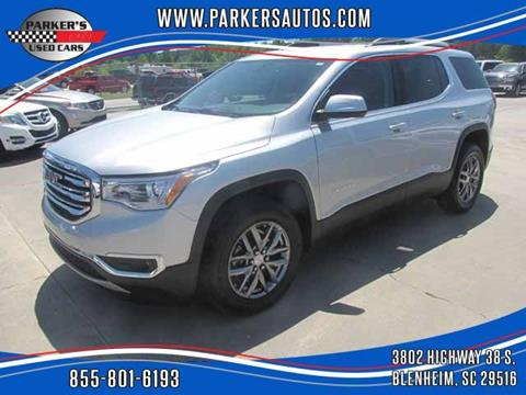 2018 GMC Acadia for sale at Parker's Used Cars in Blenheim SC