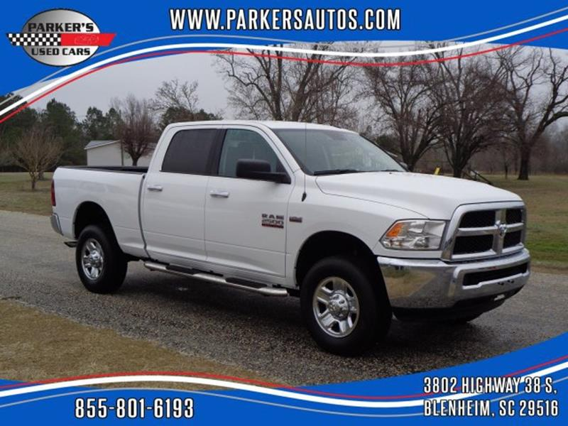 2018 RAM Ram Pickup 2500 for sale at Parker's Used Cars in Blenheim SC