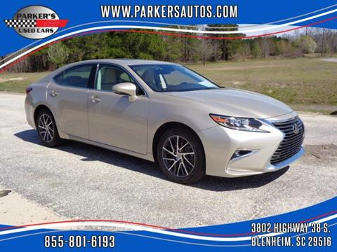 2017 Lexus ES 350 for sale at Parker's Used Cars in Blenheim SC