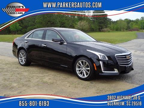 2019 Cadillac CTS for sale at Parker's Used Cars in Blenheim SC