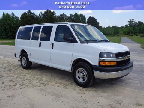 2018 Chevrolet Express Passenger for sale in Blenheim, SC