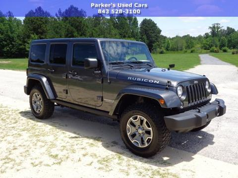 2017 Jeep Wrangler Unlimited for sale in Blenheim, SC