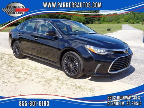 2017 Toyota Avalon for sale at Parker's Used Cars in Blenheim SC