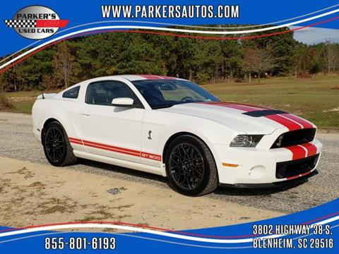 2013 Ford Shelby GT500 for sale in Blenheim, SC