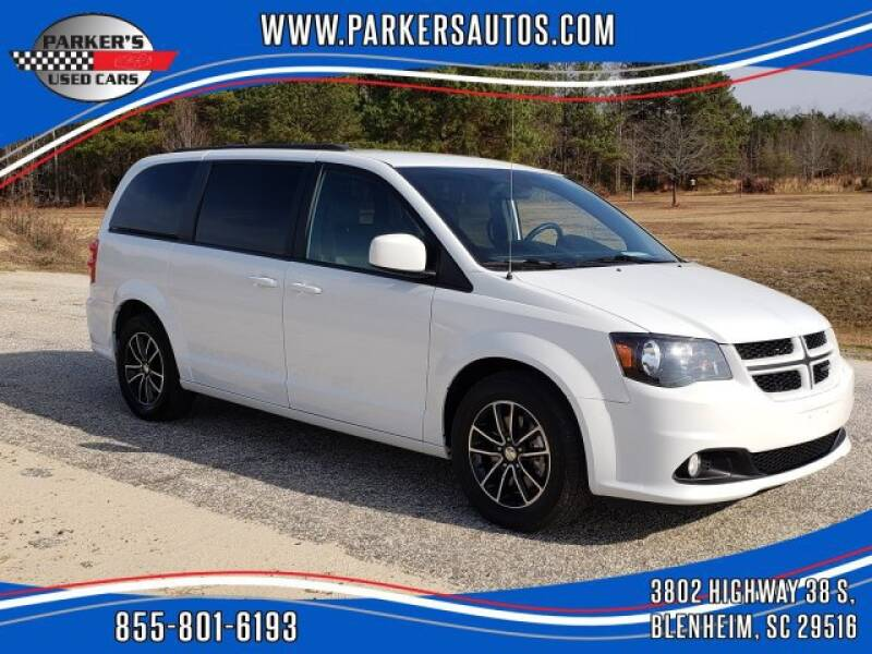 2019 Dodge Grand Caravan for sale at Parker's Used Cars in Blenheim SC