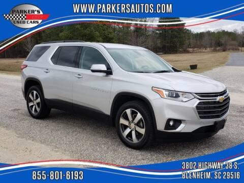 2020 Chevrolet Traverse for sale at Parker's Used Cars in Blenheim SC