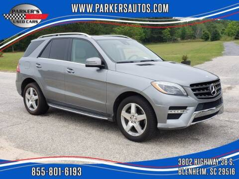 2015 Mercedes-Benz M-Class ML 400 for sale at Parker's Used Cars in Blenheim SC