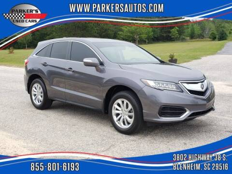 2017 Acura RDX for sale at Parker's Used Cars in Blenheim SC