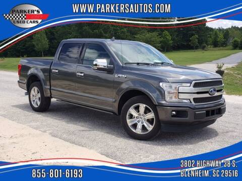 2019 Ford F-150 for sale at Parker's Used Cars in Blenheim SC