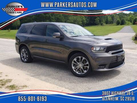 2019 Dodge Durango for sale at Parker's Used Cars in Blenheim SC