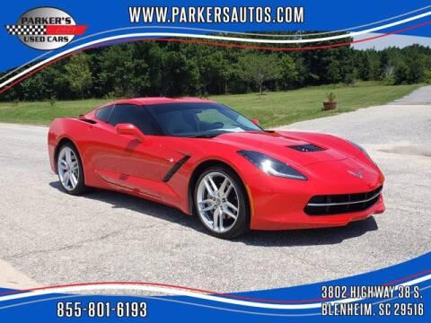 2018 Chevrolet Corvette for sale at Parker's Used Cars in Blenheim SC