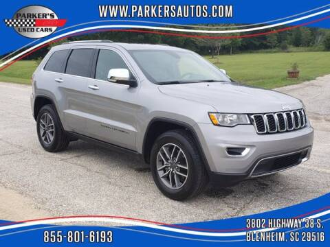 2020 Jeep Grand Cherokee for sale at Parker's Used Cars in Blenheim SC