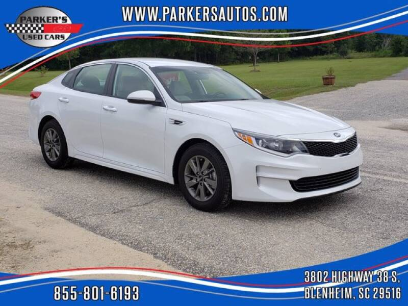 2017 Kia Optima for sale at Parker's Used Cars in Blenheim SC