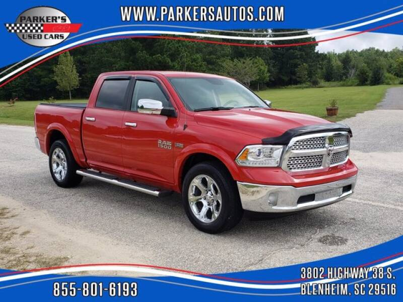 2017 RAM Ram Pickup 1500 for sale at Parker's Used Cars in Blenheim SC