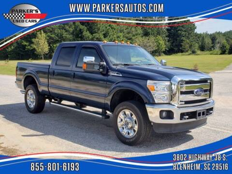 2016 Ford F-350 Super Duty for sale at Parker's Used Cars in Blenheim SC