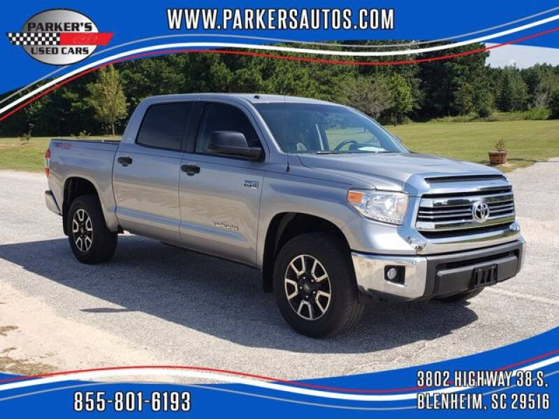 2017 Toyota Tundra for sale at Parker's Used Cars in Blenheim SC