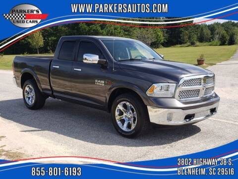 2014 RAM Ram Pickup 1500 for sale at Parker's Used Cars in Blenheim SC