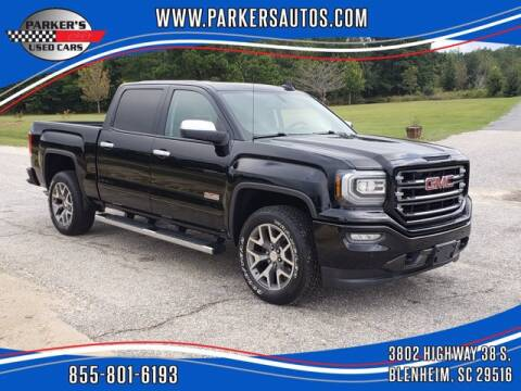 2018 GMC Sierra 1500 for sale at Parker's Used Cars in Blenheim SC